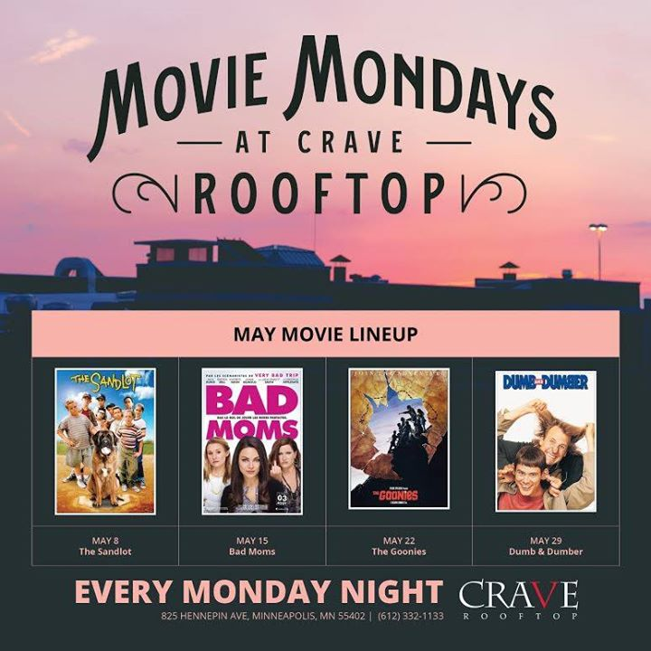 Movie Mondays on the Rooftop - Dumb & Dumber at CRAVE