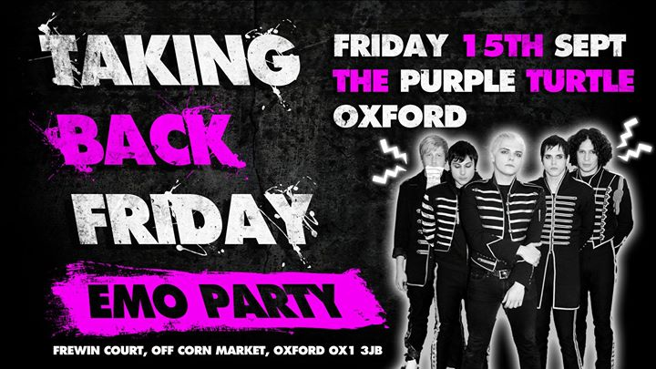 TBF The Black Parade Party  Friday Sept 15th
