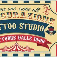 Inaugurazione freak circus tattoo studio borgo panigale for Circus studio milano