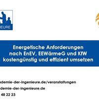 Seminar - Energetische Anforderungen effizient umsetzen