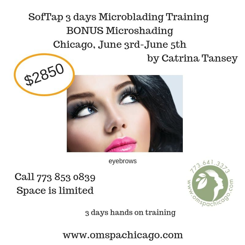 3 Days Microblading Training at OM SPA - Cosmetic Tattoo