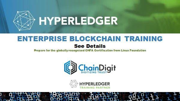 Enterprise Blockchain Training  Hyperledger Fabric 2 Day Instructor led Online CDT004
