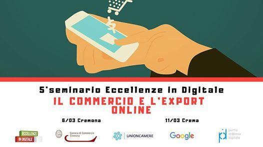 Seminario - Il commercio e lexport online