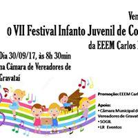 VII FESTIVAL INFANTO JUVENIL DE CORAIS DA EEEM CARLOS BINA