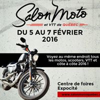 Salon de la moto et du VTT de Qubec 2016