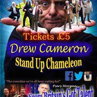 Drew Cameron 5 ticket Comedian singer impressionist