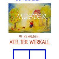 Montags Kinder Malkurse in Karlshorst