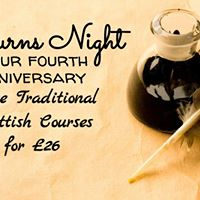 Burns Night &amp Our 4th Anniversary