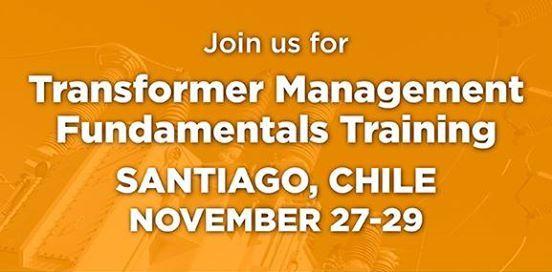 Transformer Management Essentials Training In Spanish At Santiago Chile