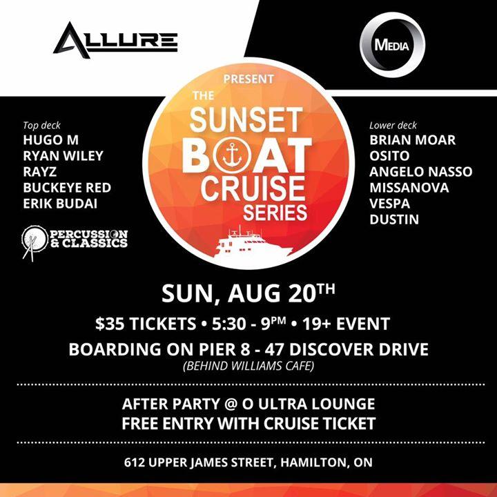 Hamilton Sunset boat cruise 17 2ND cruise