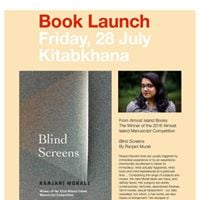 Book Launch  Blind Screens by Ranjani Murali.