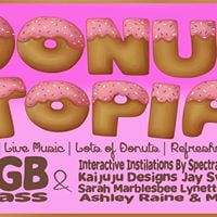 Donut-Topia Art Experience Ft KGB Glass &amp MORE
