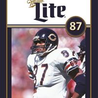Miller Lite Chicago Bears Alumni Appearance with Emery Moorehead