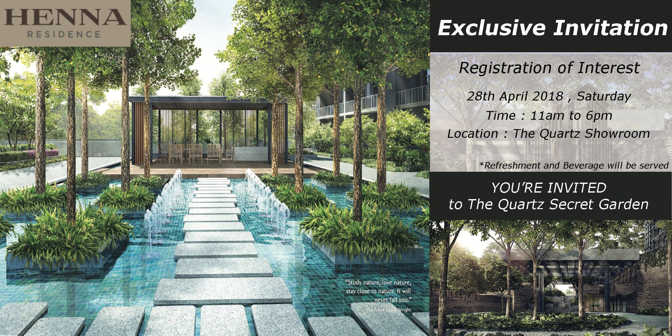 Henna Residence Register Interest Event At The Quartz Showroom