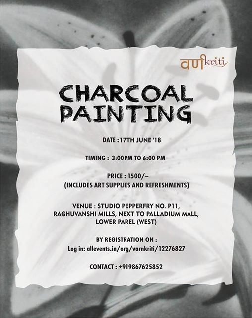 Charcoal Painting Workshop