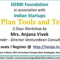 Business plan Tools and Techniques workshop
