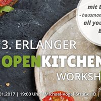 3. Erlanger OpenKitchen Workshop inkl. All You Can Taste Buffet