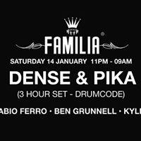 Familia Dense &amp Pika (Drumcode) 3 hour set