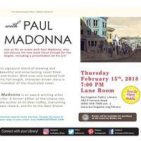 Comic Arts Fest Event w Paul Madonna
