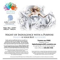Night of Indulgence With A Purpose