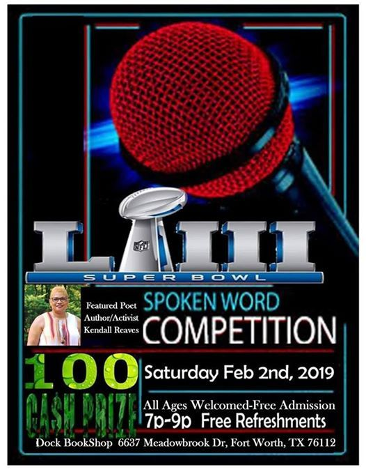The SuperBowl Saturday Spokenword Competition