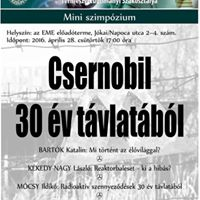 Csernobil - 30 v tvlatbl