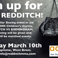 Redditch vs Birmingham - White Collar Boxing