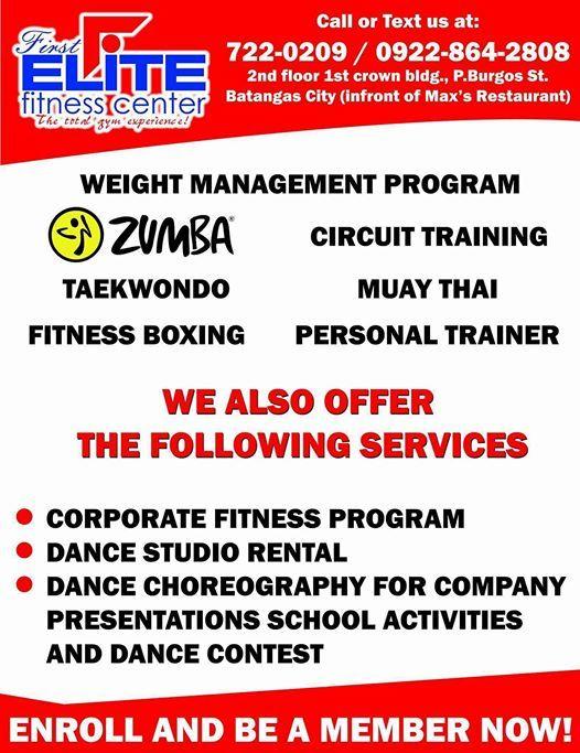First Elite Fitness Center | Batangas