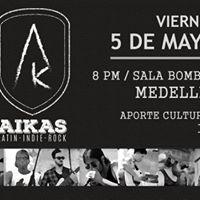 Aikas en Medellin 5 de mayo