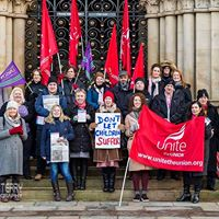 Save Bradfords Childrens Services protest