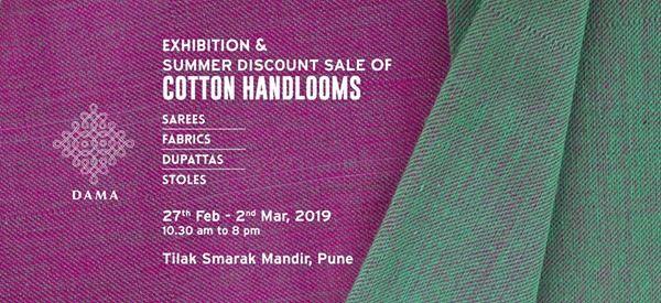 DAMA Cotton Handloom Exhibition in Pune