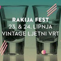 Rakija Fest I dvodnevni festival rakija I 23. i 24. lipnja I VIB
