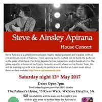 Steve &amp Ainsley Apirana House Concert