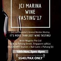 JCI Marina 2017 Wine Tasting