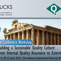 Pre-Conference Workshop - Building a Sustainable Quality Culture