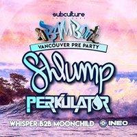 Shlump w Perkulat0r at SUBculture Saturdays Bamboo Pre Party
