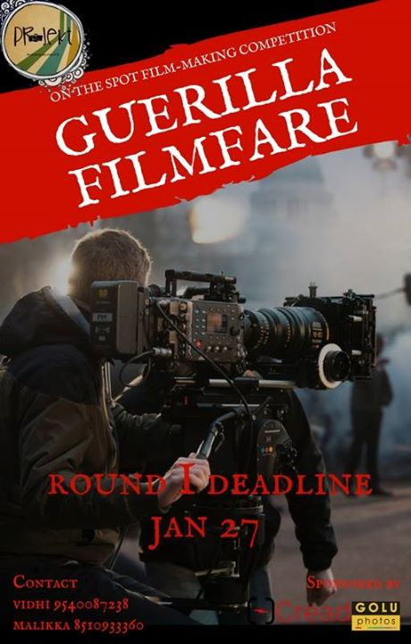 Guerrilla FilmFare (On-the-spot Film Making Competition)