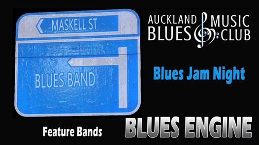Auckland Blues Music Club Blues Jam Night