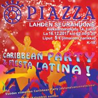 Caribbean Party la 16.12 Piazza Night Clubilla