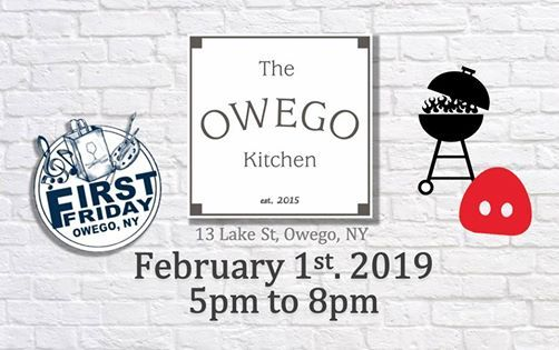 February First Friday At The Owego Kitchen Owego