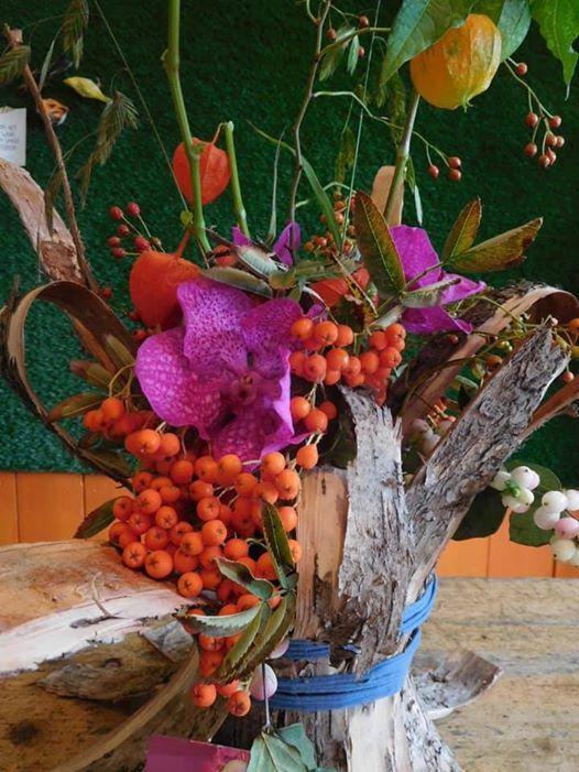 Voorkeur Workshop Herfststuk maken met Amazing Flowers at Leuk Eten @WD33