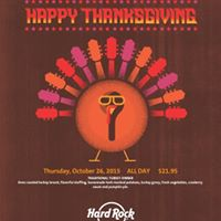 Thanksgiving Feast at Hard Rock Cafe Key West