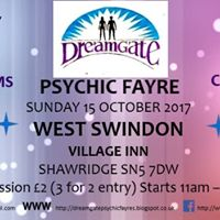 DreamGate Psychic Fayre Swindon October 2017