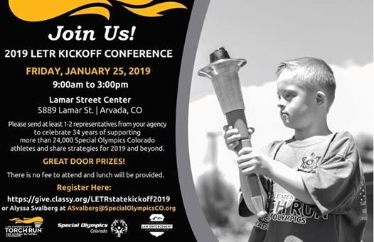 2019 LETR State Kickoff Conference