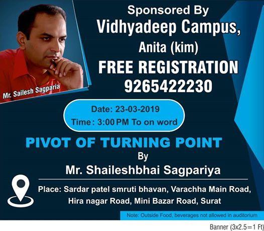 PIVOT of Turning POINT - Motivational Seminar