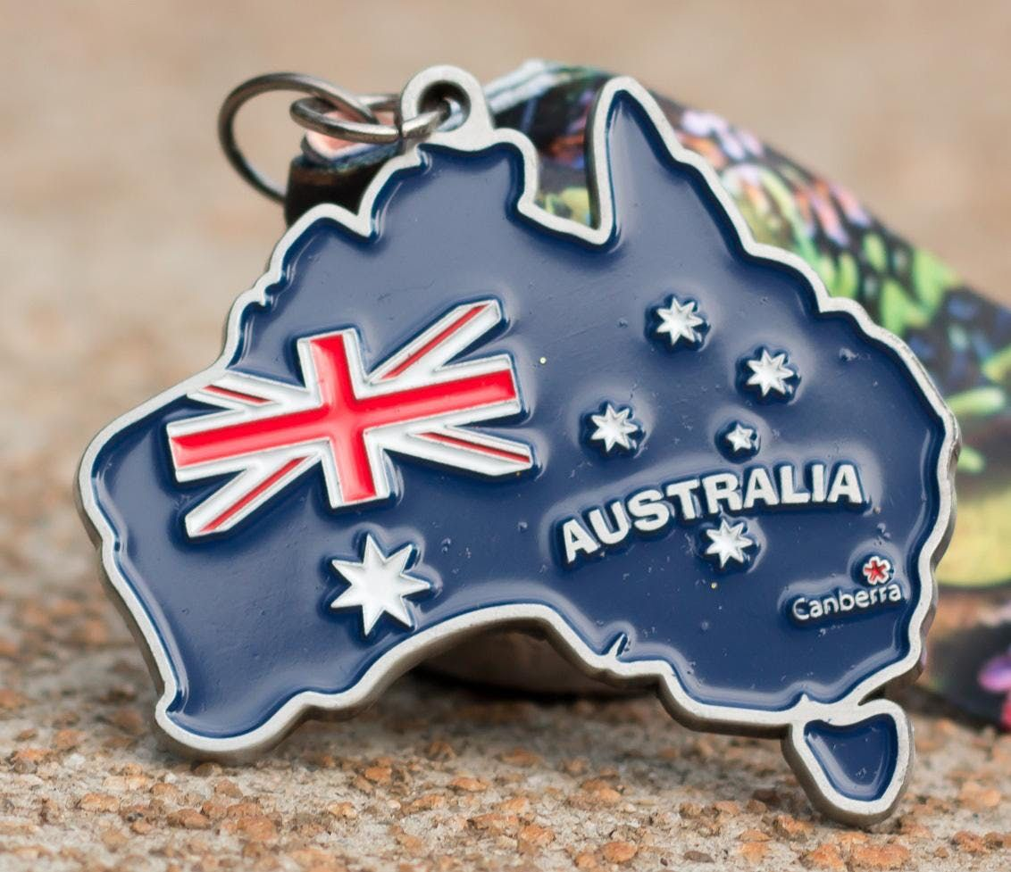 Now Only 12 Race Across Australia 5K 10K 13.1 26.2 -Columbia
