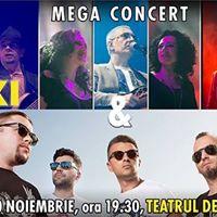 Mega Concert Taxi &amp VUNK 10 Noiembrie 2017