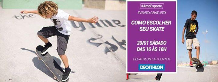 a308072a64 Como Escolher seu Skate I Decathlon Lar Center at Decathlon Brasil ...