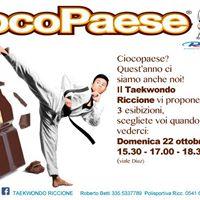 Ciocopaese 2017 &amp Cioco..TaekwondoRiccionePolisportiva