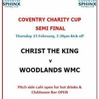 Coventry Charity Cup - Christ The King v Woodlands
